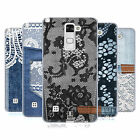 HEAD CASE DESIGNS JEANS AND LACES SOFT GEL CASE FOR LG STYLUS 2