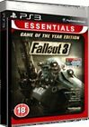 NEW & SEALED! Fallout 3 Game Of The Year Essentials Sony Playstation 3 PS3 Game