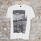 Obey Pittsburgh Photo Casual Short Sleeve T-Shirt New White- Size S