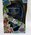 NEW U.S. Divers Youth Silicone Snorkeling Set LARGE (5-8) Blue blk