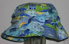 NWT Gymboree VACATION TIME Blue Scenic Print Bucket HAT