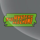 Mystery Machine Logo Scooby Doo Van Vinyl Decal Sticker - 4 Inch To 15 Inch