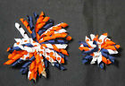 "3"" & 5"" NBA Themed NavyOrangeWhite Charlotte Bobcats Korker Hair Bow on eBay"