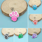 Unique Animal Dog Cat Pet Paw Print Stainless Steel Pendant Necklace Charm Tag