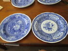 SPODE BLUE ROOM SET OF 2 DINNER PLATES (a)