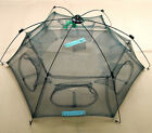 Fishing Net 80cm/100cm square Floding Crab Fish Minnow Fishing Trap Cast Net JR