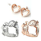 1x Bola Cage Harmony Chime Sound Heart Angel Openable Pendant For Necklace Gift