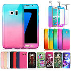 Hybrid Shockproof Ultra-Thin Bumper Case Cover For Samsung Galaxy S6 S7 Edge S8