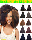 Hot Kinky Bulk Hair for Braiding Top Synthetic Fibers Classic Afro Curls on Sale