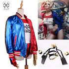 Suicide Squad Cosplay Harley Quinn Outfit Anzug Halloween Party Joker Kostüm
