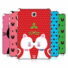 HEAD CASE DESIGNS CHRISTMAS CATS HARD BACK CASE FOR SAMSUNG TABLETS 1