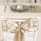 "6""x108"" Satin Chair Cover Bow /12""x108"" Table Runner Wedding Party Decoration"