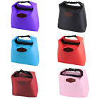 Worker Student Portable Buckle Strap Thermal Cooler Insulated Lunch Bag Pouch