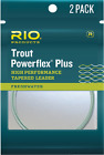 Rio Powerflex Trout Leader 12 foot - 3 Pack