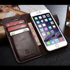 Real Leather Wallet Card holder cover Flip Case for Apple iPhone 7 7 Plus