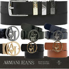 ARMANI JEANS BELTS - WOMENS ARMANI BELTS - GENUINE LEATHER AND PVC ARMANI BELTS