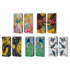 OFFICIAL WYANNE BIRDS 2 LEATHER BOOK WALLET CASE COVER FOR APPLE iPHONE PHONES