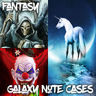 Cases For Samsung Galaxy Note 2 3 4 5 - Fantasy, Dragons and Zombies