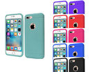 Rugged Rubber Silicone Case Cover For IPHONE 7 PLUS