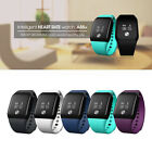 Bluetooth Smart Watch Heart Rate Blood Oxygen Tracker Monitor for IOS Android LU