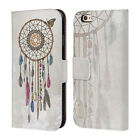 OFFICIAL RACHEL CALDWELL DREAMCATCHER LEATHER BOOK CASE FOR APPLE iPHONE PHONES
