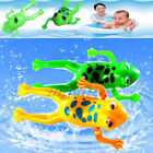 Shower Kids Bath Toys Plastic Baby Wind Up Clockwork Swimming Cartoon Toy