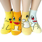 New Harajuku 3D Printed Anime Character Socks Pocket Monsters Women Kid Socks