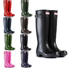 WOMENS HUNTER WELLINGTON BOOTS ORIGINAL TALL RAIN SNOW WELLIES LADIES UK 3-8