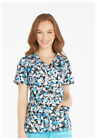 Scrubs Dickies Gen Flex Print Top Paint That The Truth 82724 PTTA FREE SHIPPING