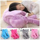 Baby Children Elephant Lumbar Pillow Long Nose Doll Pillow Soft Plush Stuff Toy