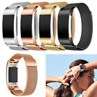 Metal Milanese Stainless Steel Watch Band Strap Bracelet For Fitbit Charge 2 New