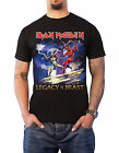 Iron Maiden T Shirt Legacy of the Beast Fight new Official Mens Black