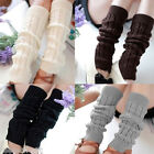 HX Winter Leggings Warmers Women's Fashion Gaiters Boot Cuff Ladies Warm 4 Color