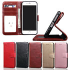 New Hybrid ShockProof Leather Wallet Purse Flip Case Cover for iPhone 7 7 Plus
