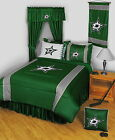 Dallas Stars Comforter Sham and Sheet Set Twin Full Queen King Size
