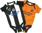 2018 NEWCASTLE UNITED FC BABIES BODY PRAM SUIT SHORT SLEEVE BABY GROW VEST NUFC