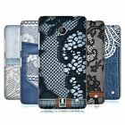 HEAD CASE DESIGNS JEANS AND LACES HARD BACK CASE FOR NOKIA LUMIA 630