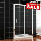 1000/1100/1200/1400...Sliding Shower Door Enclosure and Tray &Waste Glass Screen for sale  Birmingham
