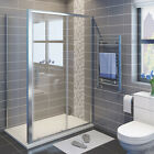 Quality Sliding Door Shower Enclosure And Tray&Waste Side Panel Walk  In Screen