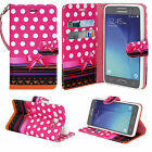 BLU Studio R1 HD Phone Case Hybrid PU Leather Wallet Pouch Flip Fold Cover