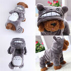 Cute Pet Dog puppy Jacket Clothes Winter Warm Hoodie Costume Coat Apparel New