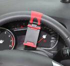 Universal Car Auto Steering Wheel Clip Mount Holder For Cell Mobile Phones GPS