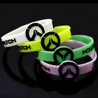 Game Overwatch Sign Silicone Rubber Luminous Wristbands Bangles Cos Jewelry New