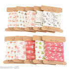 1.6cm Grosgrain Ribbon Merry Christmas Party Decorative Gift Pack Decor