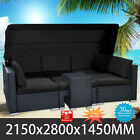 Wicker Rattan Garden Patio Sofa Set Outdoor Lounge Couch Setting Furniture