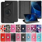 Folio Stand Leather Case Cover For Various Samsung Galaxy 9 8 10 7 inch Tablet