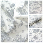 PETIT FRENCH TOILE - Grey - 100% COTTON EX WIDE 160CM OEKO TEX CERTIFICATED