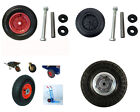 Solid And Pneumatic Replacement Sack Truck/Wheelbarrow/trolley/cart Wheel + Tyre