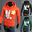 Fashion Men's Palms Star Graphic Long Sleeve Pullover Hoodie Sweater Outwear New