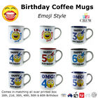 NEW Birthday Coffee Mugs 18th 18 21st 21 30th 40th 50th 60th Novelty Gift Tea